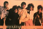 Five Star - 'Group Pink' Postcard